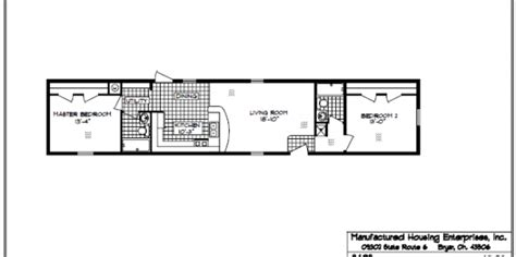 14x70 mobile home floor plan mhe single wide horkheimer homes