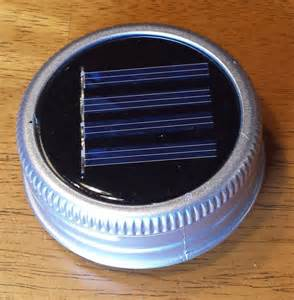 solar lid lights for jars set of 6 jar solar lid lights great for projects by