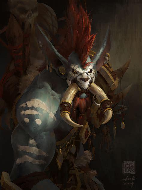 world of warcraft voljin vol jin by 6kart on