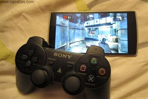 connect ps3 controller to android how to connect six axis ps3 controller to android without otg cable nairatips