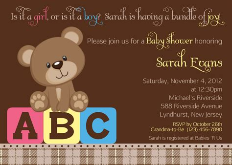 Teddy Baby Shower Invitations Wording by Design Vintage Teddy Baby Shower Invitations Teddy