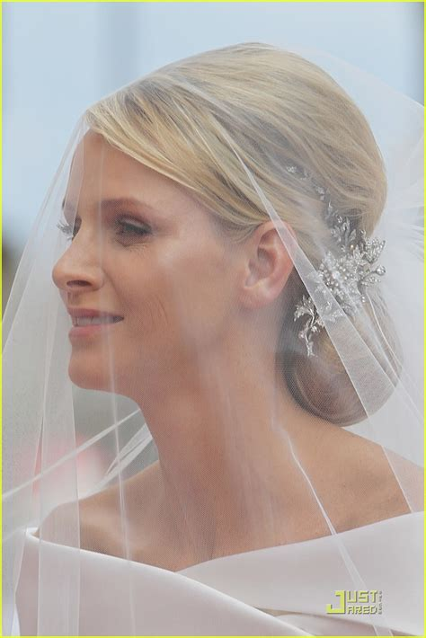 princess charlene wedding hair princess charlene wedding dress