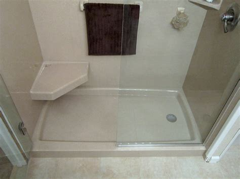 shower base to replace bathtub walk in shower and bathtub replacement gallery