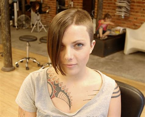 asymmetrical hairstyles for black women front and back edgy hairstyle short long amazing asymmetric trend setter