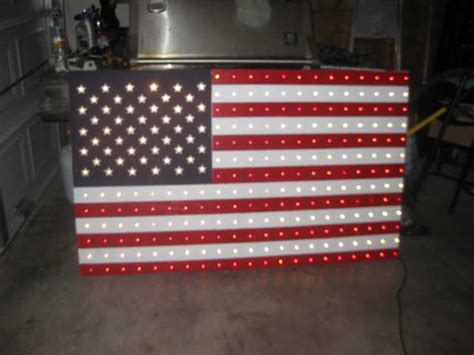 American Flag Decorations by Yard Decoration American Flag With Lights Katy Adsinusa