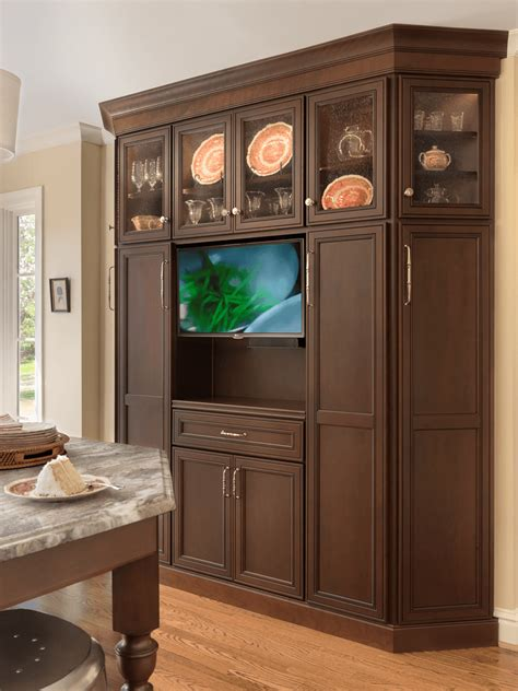 cabinet kitchen tv traditional with a twist interior design center of st louis mo interior design center of st