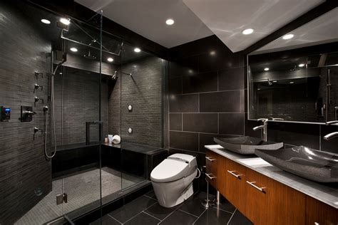 bathroom dark 97 stylish truly masculine bathroom d 233 cor ideas digsdigs