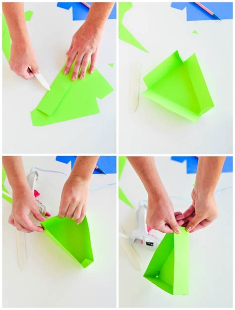 Fold Paper Into Box - free template diy boxes for chicken wings