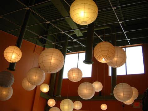 paper hanging lanterns hanging paper lanterns from ceiling