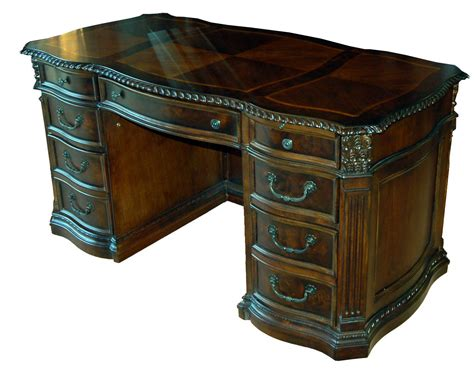 alter schreibtisch world walnut executive office desk ebay