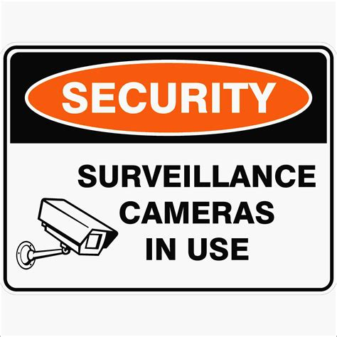 surveillance cameras in use discount safety signs australia