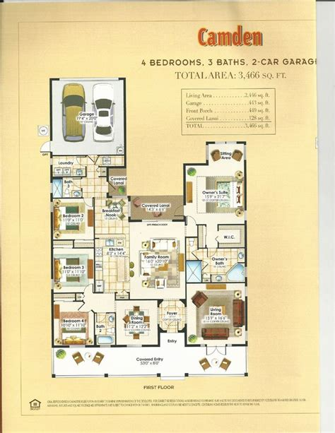 natick mall floor plan summerlake center line homes catalina collection camden