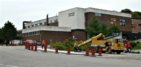 traffic safety improvements underway at hhs in time for
