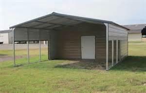 Metal Carport With Storage Metal Carports Barns Images