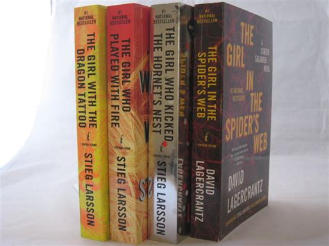 dragon tattoo series the millennium series books 1 4 by stieg larsson the