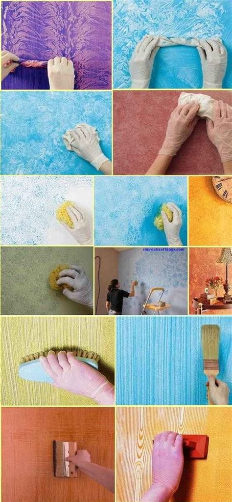 how to do wall painting designs yourself best 25 paint techniques wall ideas on pinterest