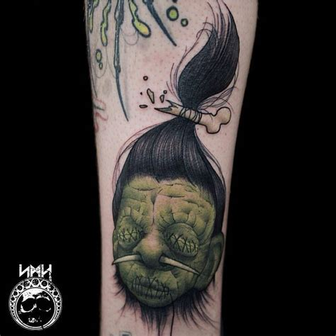 shrunken heads tattoo shrunken ifindviral