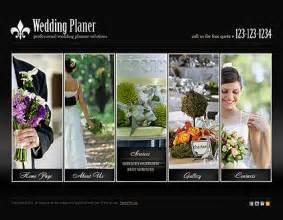 wedding planner website templates wedding planner html5 template best website templates 15 best wedding event planner website templates free