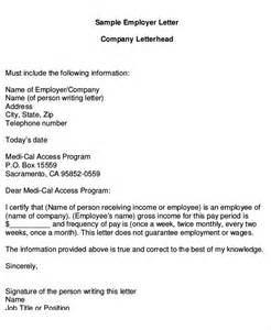 Employment Income Letter Sle Proof Of Income Letter 16 Free Word Pdf Documents