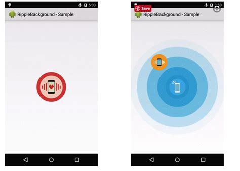android layout background animation best android ripple effect libraries on air code