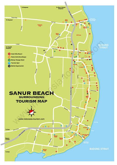 detail sanur beach bali location map bali weather
