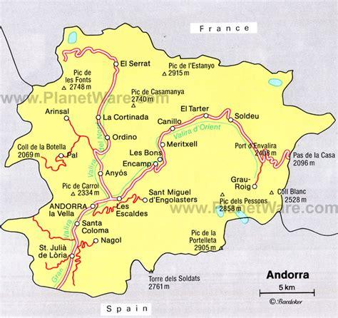andorra on a map apgovernment2011 andorra