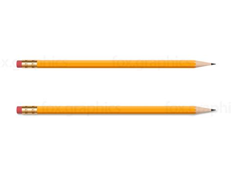 pencil images wooden yellow pencil png fox graphics