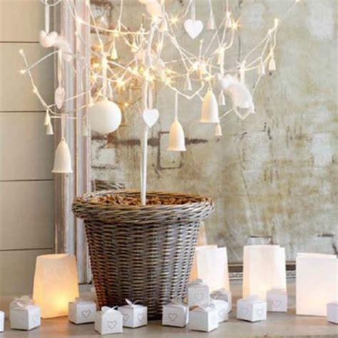 white christmas tree modern decorating wreath table