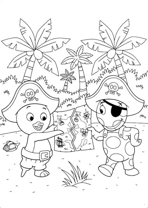 coloring book vs of pablo backyardigans coloring pages to and print for free
