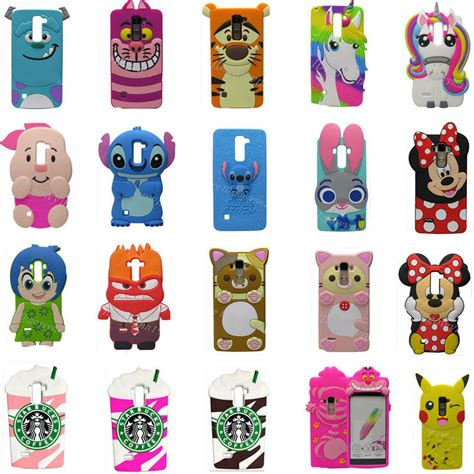 Silicon Casing Softcase Emoji Lg G Pro 2 3d disney silicone rubber soft cover for lg g stylo 2 ls775 k520 ebay