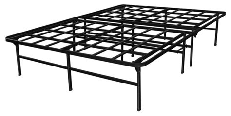 Heavy Duty Metal Bed Frame Heavy Duty Metal Platform Bed Frame Contemporary Bed Frames By Line Marketing Llc