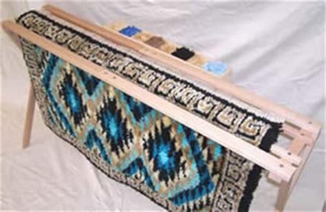 how to frame a latch hook rug stitchery frames floor stands frank a edmunds