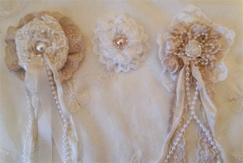 annes papercreations shabby chic lace flower tutorial