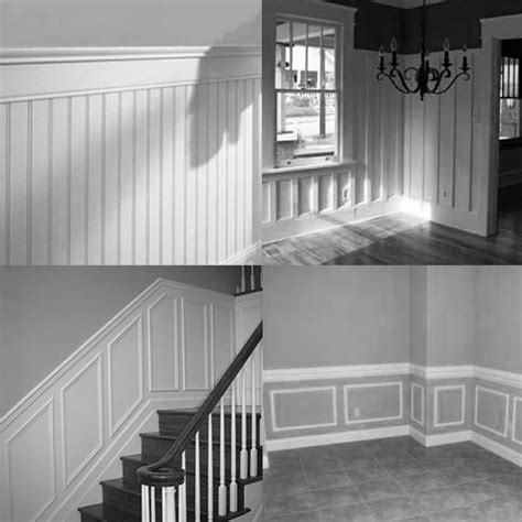 Wainscoting Types nest studio illustrated etymology wainscot
