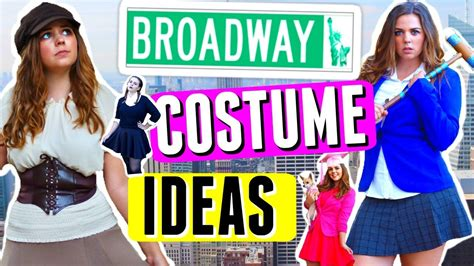Now I Another Broadway Musical To Get Excited 2 by 5 Diy Costumes Broadway Musical Edition