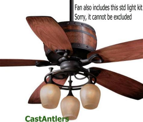 deer horn ceiling fans standard size fans 52 quot reproduction antler barrel