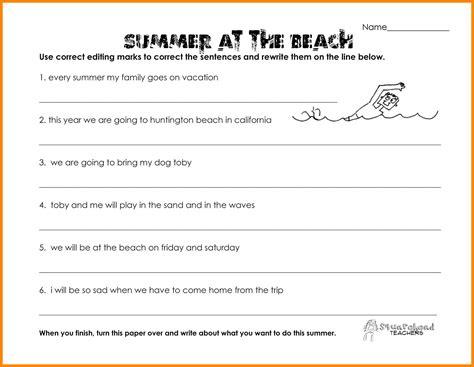 9 grammar worksheets 3rd grade bubbaz artwork