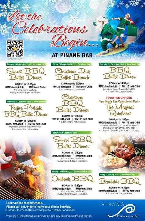 new year lunch promotion 2016 penang 2015 and new year 2016 promotions at a