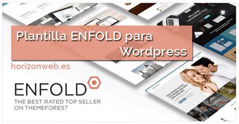 enfold theme one page website enfold theme plantilla enfold wordpress horizonweb