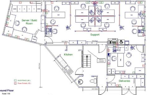 Visio Floor Plans by Visio House Plan Example House Floor Plan Example