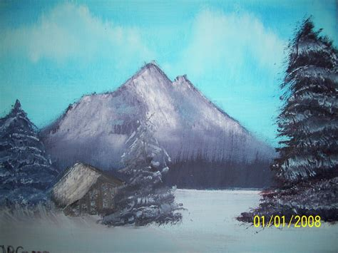 bob ross paintings titles bob ross inspired mountain painting by ulrich
