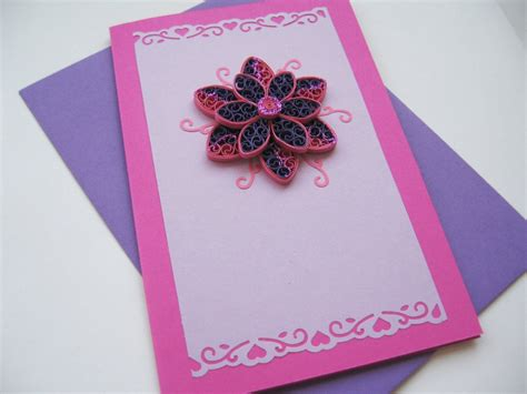 Handmade In - beautiful handmade birthday cards can make yourself