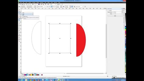 corel draw x6 removal tool corel draw tutorial how to use knife tools youtube