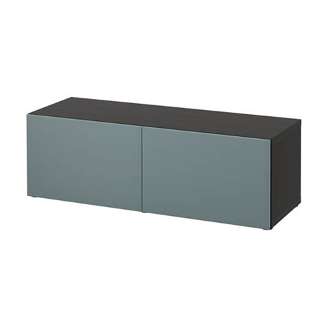 ikea besta shelf unit black brown best 197 shelf unit with doors black brown valviken grey