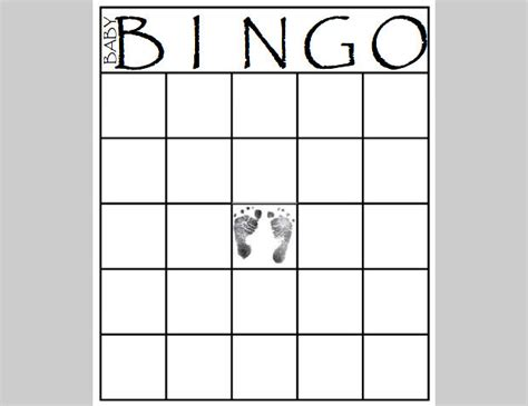 memory card template word bingo card template word blank bingo card template