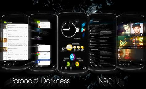 Themes Paranoid Android   theme paranoid darkness paranoid android at t