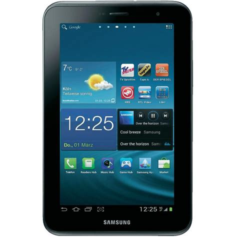 Second Samsung Tab 2 Wifi Only samsung galaxy tab 2 p3110 16 gb wifi s im conrad shop 878556