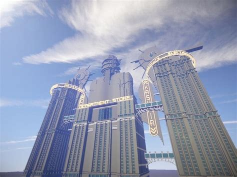 fontaines department store bioshock minecraft building