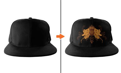 snapback template photoshop hat mockup template pack