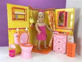 Bedroom Wastebasket american girl julie s bathroom set review american girl